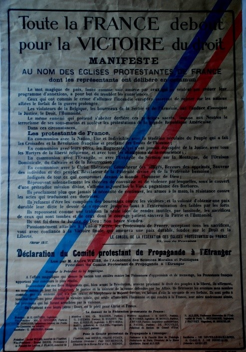 Affiche prot 1917