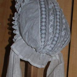 coiffe protestante à bavolet