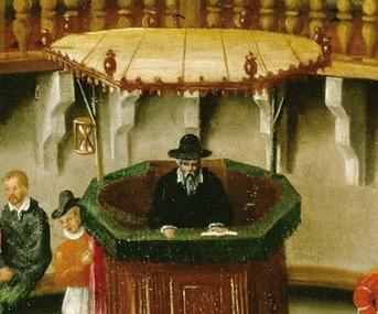 Templelyon sablier attribue a j perrissin vers 1565